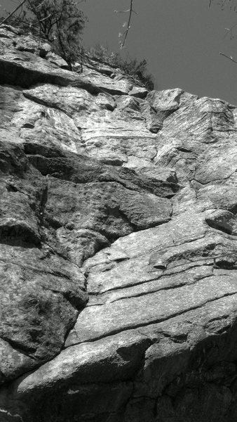 Rock Climbing Photo: gunks, up yours