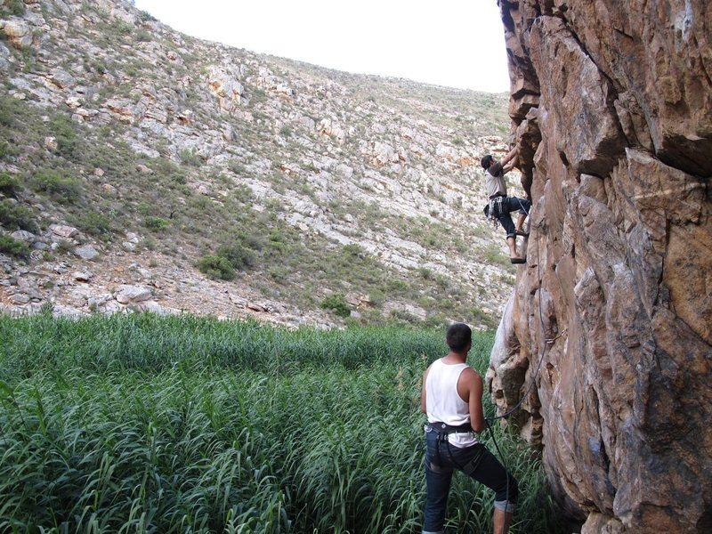 Rock Climbing Photo: Montagu, South Africa, Jungle Gym Junkie