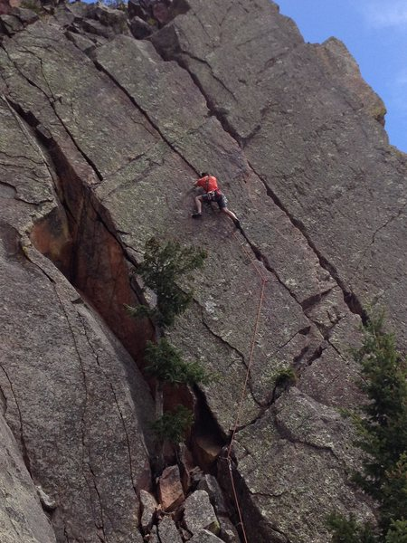 Rock Climbing Photo: A taste of the Valley in Eldo.  Photo by Jon Kraka...