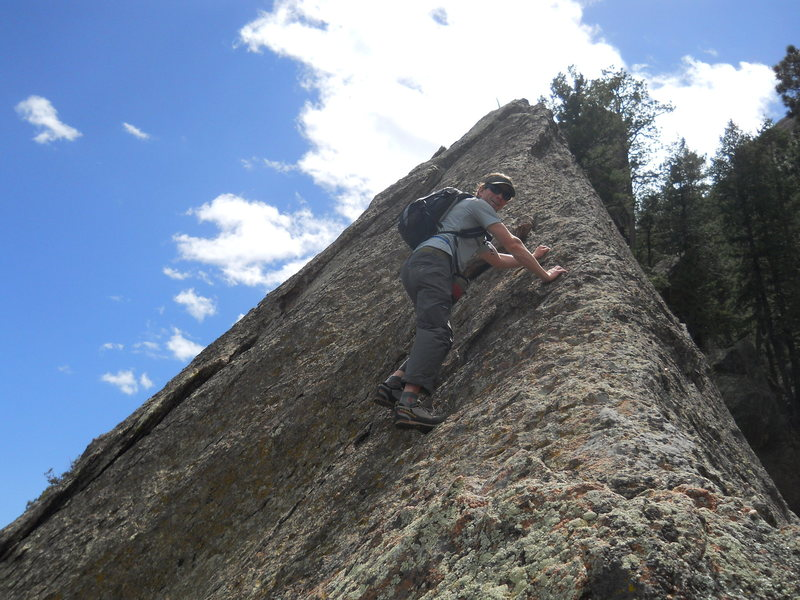 Rock Climbing Photo: Awesome ridge.