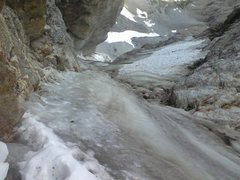 Rock Climbing Photo: Looking down into Valhalla Canyon somewhere on the...