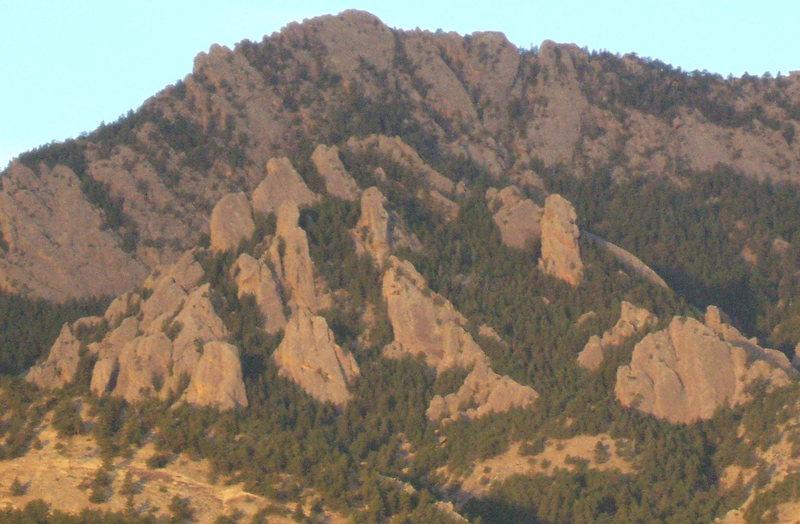 Rock Climbing Photo: Dinosaur Mountain