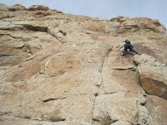 Rock Climbing Photo: Starting P1.
