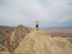 Rock Climbing Photo: Your's truly on Summit.