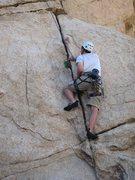 Rock Climbing Photo: Start of Raven's Reach