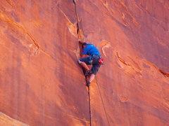 Rock Climbing Photo: Following the Fett send