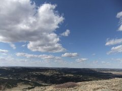 Rock Climbing Photo: summit grassland(?!)