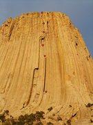 Rock Climbing Photo: El Matador route
