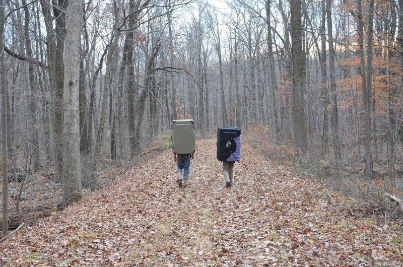 Hanger 18 trail