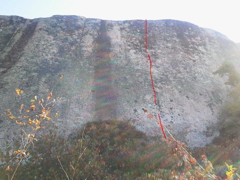 Rock Climbing Photo: No Lead 5.11