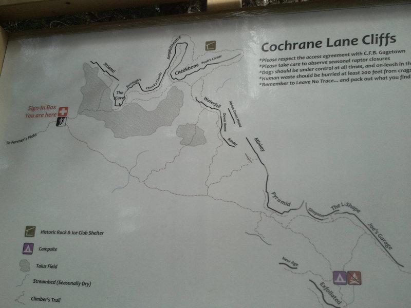 Areas at Cochrane Lane