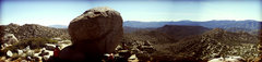 Rock Climbing Photo: Cowboy Dan boulder at Jasper