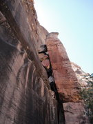 Rock Climbing Photo: The base of pitch 1.