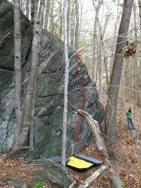 Rock Climbing Photo: Mr. Boombastic... shit photo sorry.