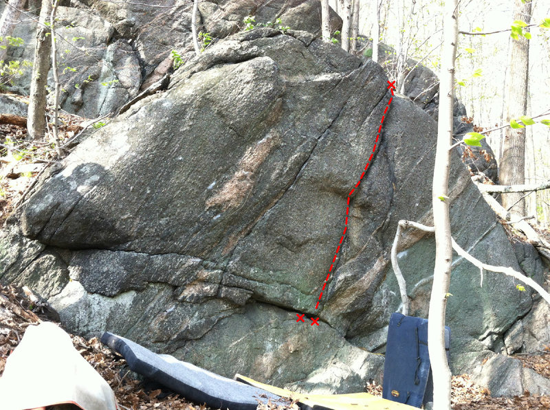 Rock Climbing Photo: Perfect Crack