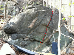 Rock Climbing Photo: Perfect Crack