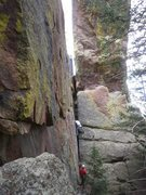Rock Climbing Photo: All the descriptions mention starting on the North...