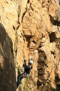 Rock Climbing Photo: Andrew practicing ascending and descending at Brou...