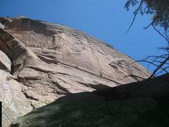 Rock Climbing Photo: Pitch 2 traversery.