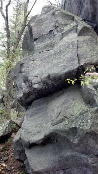 Rock Climbing Photo: Whaler's Rock