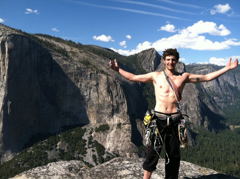 Rock Climbing Photo: Top of Lower Cathedral Spire