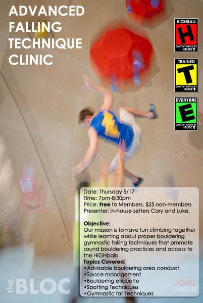 Rock Climbing Photo: AdvFallTech flyer
