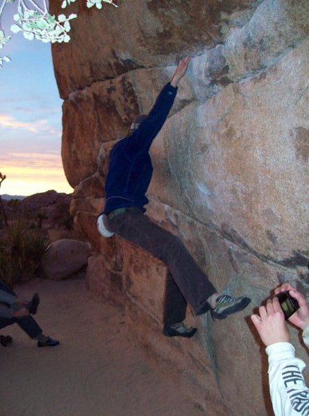 Rock Climbing Photo: gunsmoke