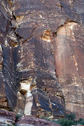 Rock Climbing Photo: Return To Forever is the hard to miss center crack...