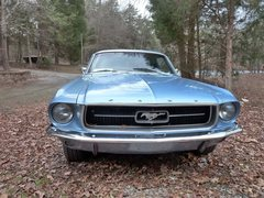 Rock Climbing Photo: My 67 Mustang...UNC Blue!!!