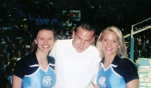 Me at UNC Game!!! Go Heels!!!