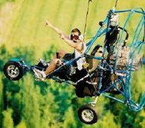 Rock Climbing Photo: Me Flying! Getting Hugh on Life!!!