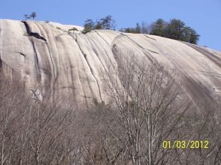 Rock Climbing Photo: Stone Mtn. NC