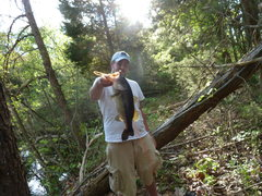 Rock Climbing Photo: Bass I Caught In My Pond!