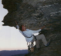 Rock Climbing Photo: Me at Linville Gorge!!!