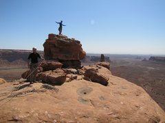 Rock Climbing Photo: Tom-Tom summit.