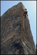 """Rock Climbing Photo: Amy Jo Ness on """"Fat Black Mama"""". Photo b..."""