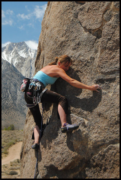 "Rock Climbing Photo: Amy Jo Ness on ""Pirates on Horseback"". P..."