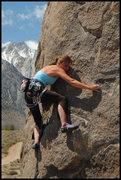 "Rock Climbing Photo: Amy Jo Ness on ""Pirates on Horseback"". P..."