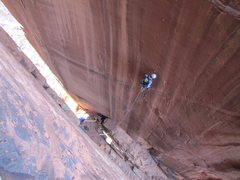 Rock Climbing Photo: leading Amazon Tower's first pitch.
