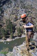 Rock Climbing Photo: Top of pitch 3.