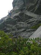 Rock Climbing Photo: Hindu Kush, Ship Rock NC