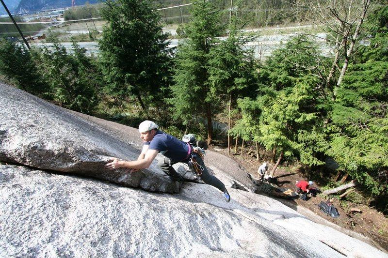 Rock Climbing Photo: P1 of Rambles (5.7)