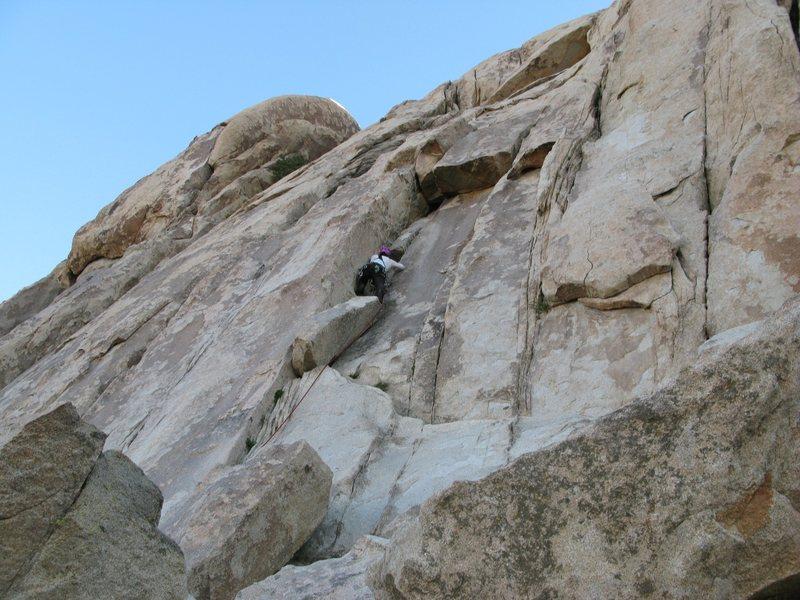 Rock Climbing Photo: A fun, mellow climb.   Taken 4/16/12.