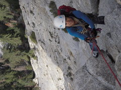 Rock Climbing Photo: Big wall training
