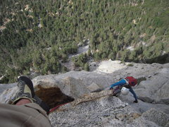 Rock Climbing Photo: Almost
