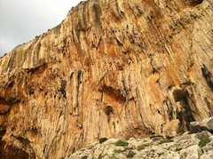 Rock Climbing Photo: Panorama left