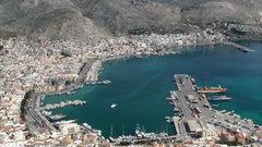 Rock Climbing Photo: Pothia, the main port town on Kalymnos.
