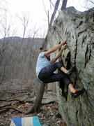 Rock Climbing Photo: Gibbon Boulder near NCOB base camp