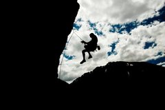 Rock Climbing Photo: lobbing in Independence Pass
