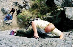 Rock Climbing Photo: Slack!
